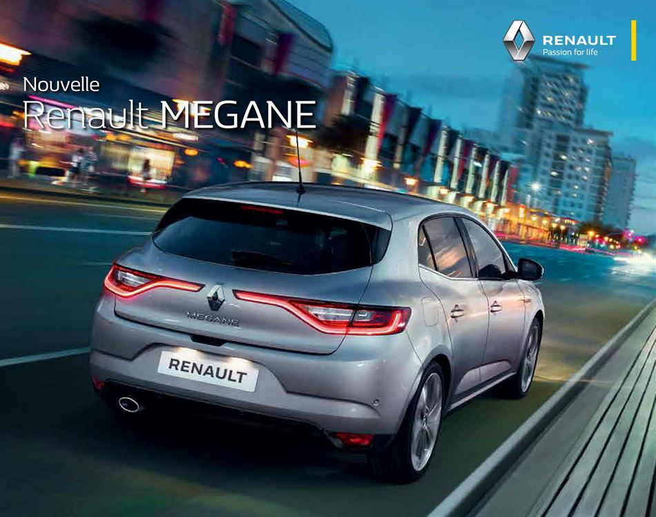Catalogue Renault Megane Promotion 06/02/2020 AU 15/11/2020