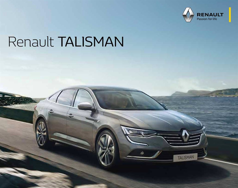 Catalogue Renault Talisman Promotion 06/02/2020 AU 15/11/2020