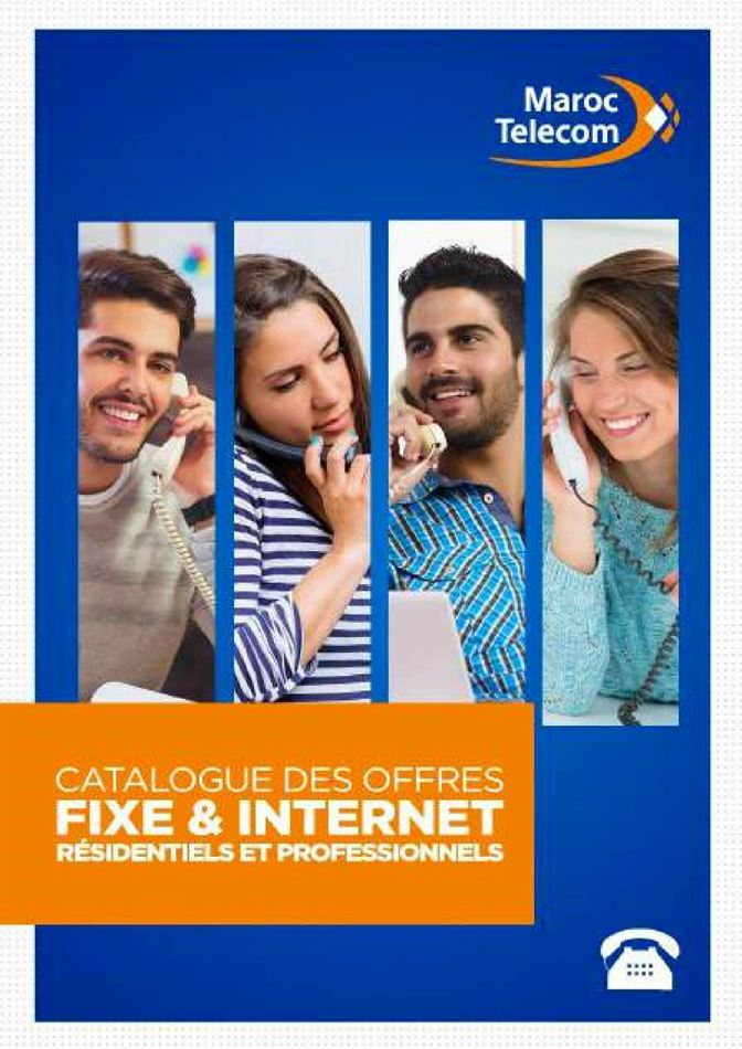 Catalogue des Offres Fixe & Internet