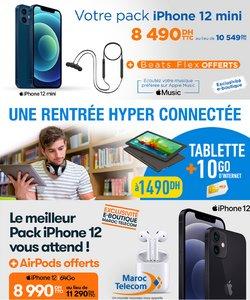 Promos de Électroménager et Technologie dans le prospectus à Maroc Telecom ( 3 jours de plus)