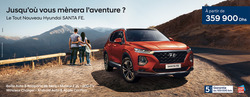 Promos de Hyundai dans le prospectus à Casablanca