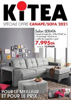 Promos de Maison et Bricolage dans le prospectus à KITEA ( 14 jours de plus)
