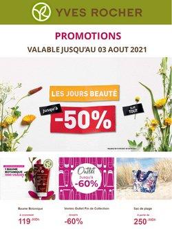 Promos de Parfumeries et Beauté dans le prospectus à Yves Rocher ( 7 jours de plus)