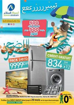 Promos de Supermarchés dans le prospectus à Aswak Assalam ( Expire demain)