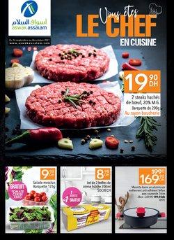 Promos de Supermarchés dans le prospectus à Aswak Assalam ( Nouveau)