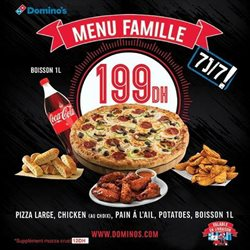 Domino's Pizza coupon ( Publié hier)