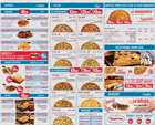 Promos de Restaurants dans le prospectus de Domino's Pizza à Tanger ( Plus d'un mois )