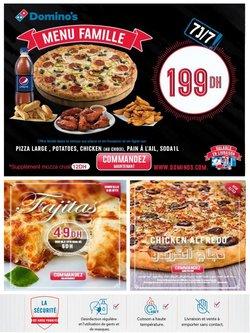 Promos de Restaurants dans le prospectus à Domino's Pizza ( 15 jours de plus)