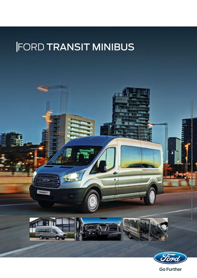 Catalogue Ford Transit Minibus Promotion 25/07/2019 AU 31/01/2021