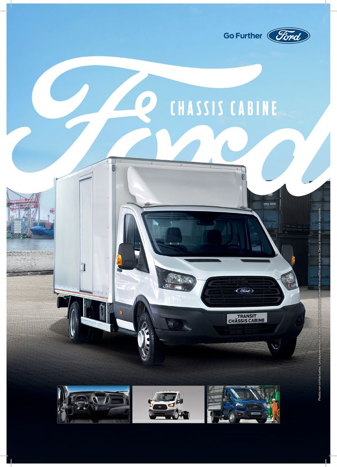 Catalogue Ford Transit Chassis Cabine Promotion 23/03/2020 AU 31/01/2021
