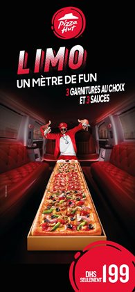 Sauces à Pizza Hut