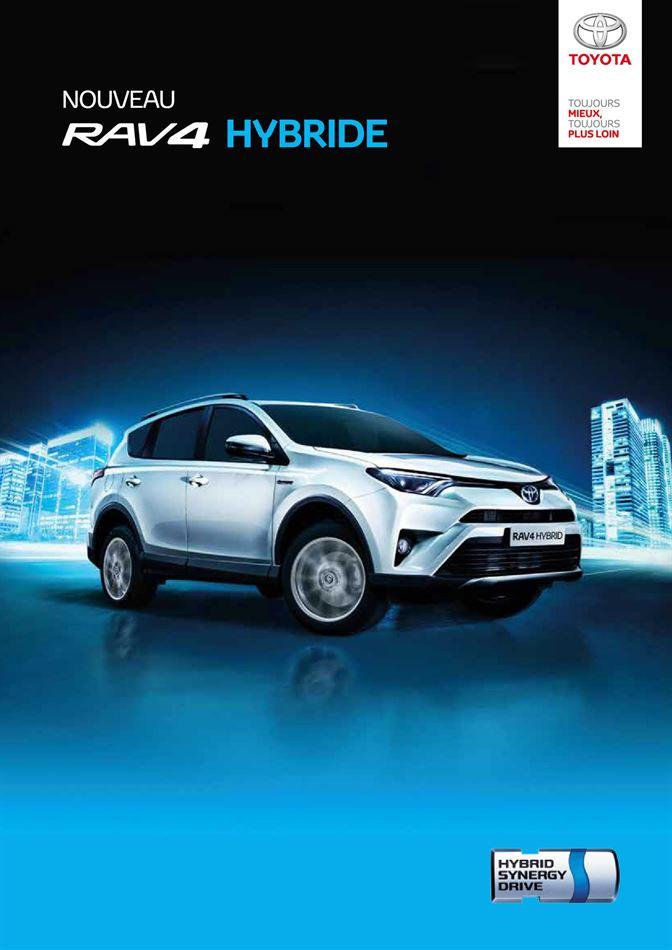 Catalogue Nouveau Rav4 Hybrid Promotion 30/03/2020 AU 04/01/2020