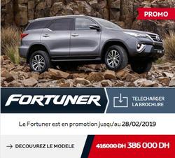 Promos de Toyota dans le prospectus à Rabat