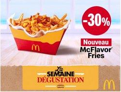 Promos de McDonald's dans le prospectus à McDonald's ( Expiré)