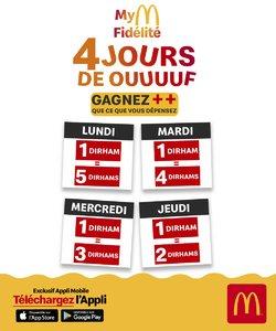 Promos de Restaurants dans le prospectus à McDonald's ( 28 jours de plus)