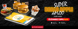 Promos de McDonald's dans le prospectus à Tanger