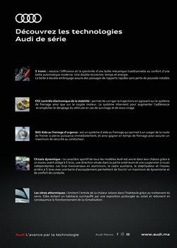 Modèles à Audi