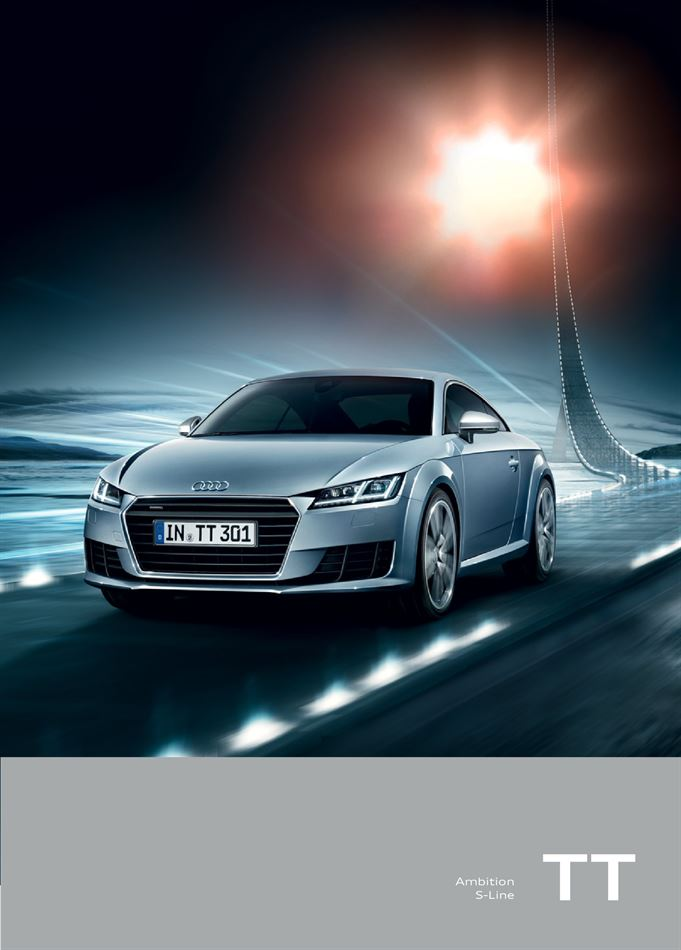 Catalogue Audi TT Promotion 07/10/2019 AU 07/10/2020