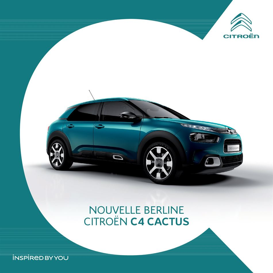 Catalogue Nouvelle Berline C4 Cactus Promotion 08/06/2020 AU 30/09/2020