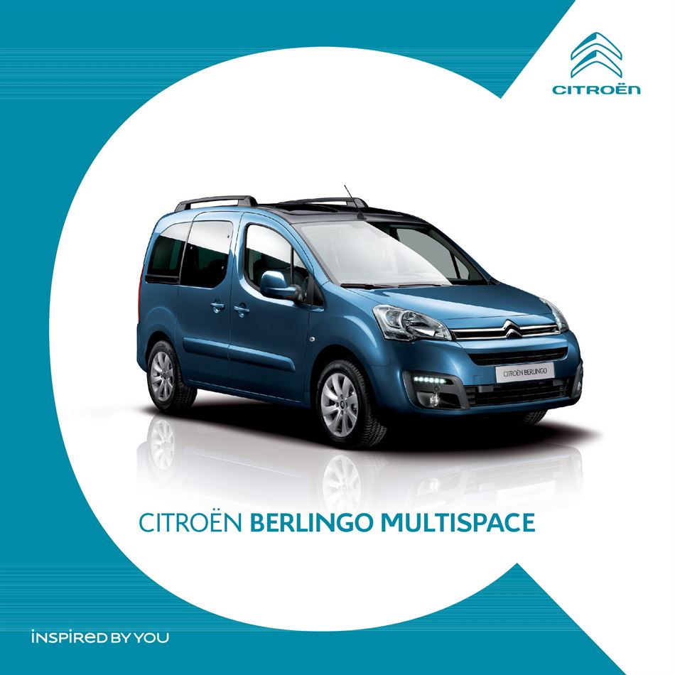 Catalogue Citroën Berlingo Multispace Promotion 22/02/2020 AU 30/09/2020