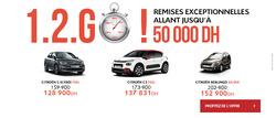 Promos de Voitures, Motos et Accessoires dans le prospectus de Citroën à Casablanca