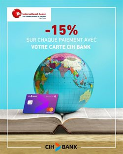 CIH Bank coupon à Aït Melloul ( Expiré )