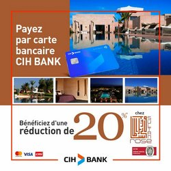 CIH Bank coupon à Agadir ( 12 jours de plus )