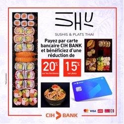 Promos de CIH Bank dans le prospectus à CIH Bank ( Expiré)