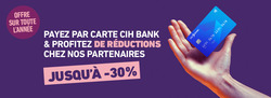 CIH Bank coupon à Tanger ( 7 jours de plus )
