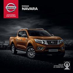 Promos de Nissan dans le prospectus à Casablanca