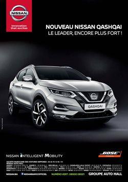 Promos de Voitures, Motos et Accessoires dans le prospectus de Nissan à Marrakech