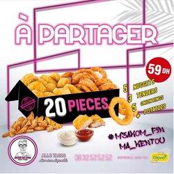 Promos de Restaurants dans le prospectus à Tacos de Lyon ( 4 jours de plus)