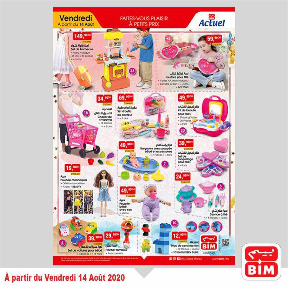 Catalogue Collection Jouets BIM DU 14/08/2020 AU 20/08/2020
