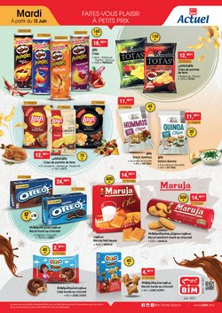 Promos de Supermarchés dans le prospectus à BIM ( 11 jours de plus)