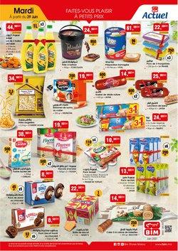 Promos de Supermarchés dans le prospectus à BIM ( 12 jours de plus)