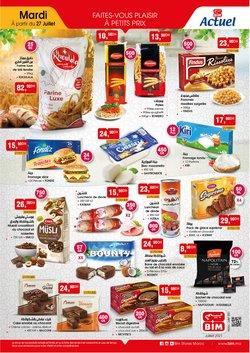 Promos de Supermarchés dans le prospectus à BIM ( 6 jours de plus)