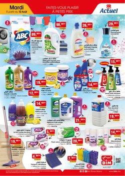 Promos de Supermarchés dans le prospectus à BIM ( Publié hier)