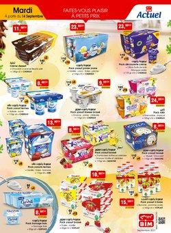 Promos de Supermarchés dans le prospectus à BIM ( 4 jours de plus)