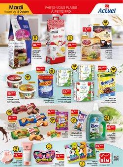 Promos de Supermarchés dans le prospectus à BIM ( Expire demain)