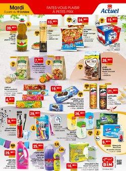 Promos de Supermarchés dans le prospectus à BIM ( 2 jours de plus)