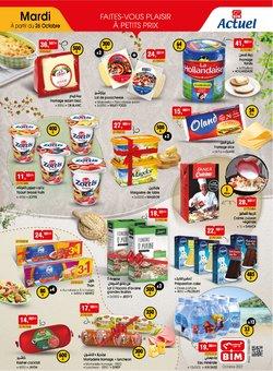 Promos de Supermarchés dans le prospectus à BIM ( 10 jours de plus)