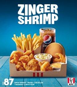 Promos de Restaurants dans le prospectus à KFC ( 3 jours de plus)