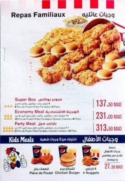 Promos de Restaurants dans le prospectus à KFC ( Plus d'un mois)