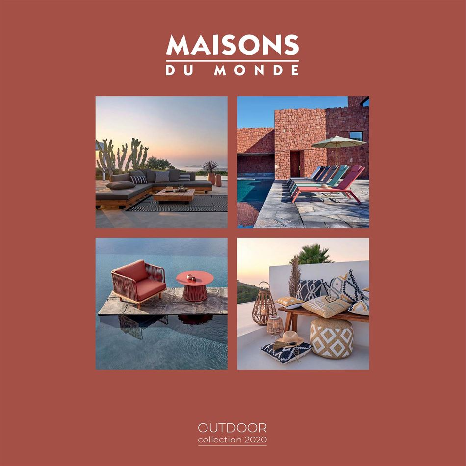 Catalogue Maisons du monde Oudoor Collection 2020