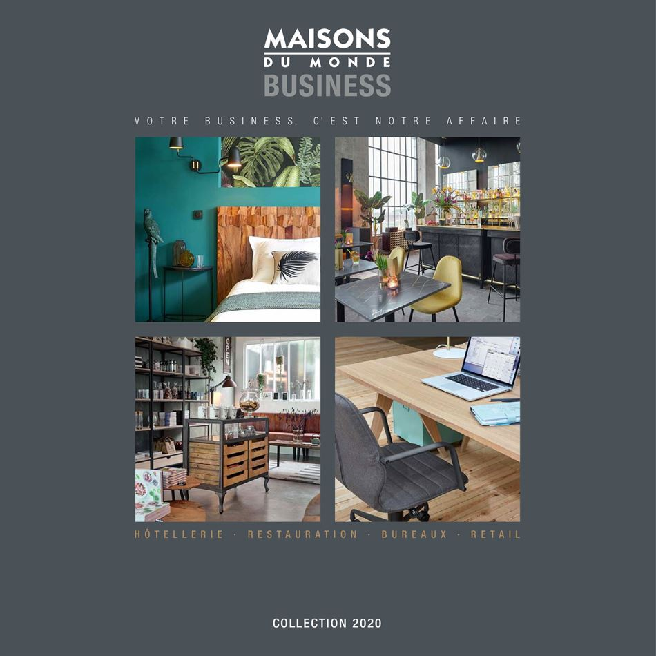 Catalogue Maisons du Monde Maroc Business Collection 2020