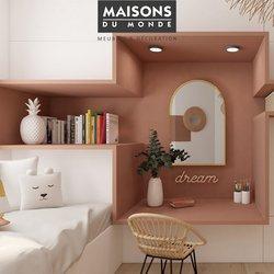Promos de Maison et Bricolage dans le prospectus à Maisons du Monde ( Nouveau)