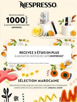 Promos de Supermarchés dans le prospectus de Nespresso à Tanger ( 8 jours de plus )