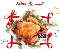Promos de Supermarchés dans le prospectus de Acima à Rabat ( 27 jours de plus )