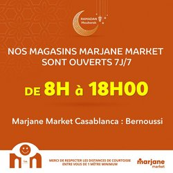 Promos de Supermarchés dans le prospectus à Marjane Market ( 9 jours de plus )