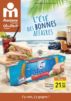 Promos de Supermarchés dans le prospectus à Marjane Market ( Publié hier)